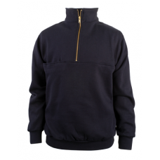 Game Sportswear 870-T The Firefighter's Zip Turtleneck (Navy)
