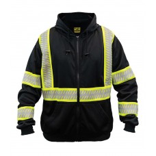 Game Sportswear 8775 Eclipse Line Reflective Hoodie