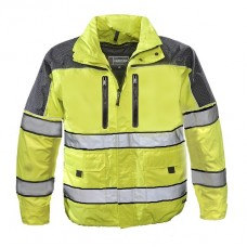 Gerber Eclipse SX Jacket, Lime Yellow w/ Liner