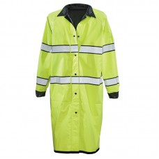 Gerber Pro Dry Reversible Raincoat Black/Lime Yellow