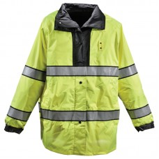 Gerber Typhoon Rain Jacket Black/Lime Yellow