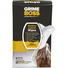 Grime Boss 60 Count Hand Wipes