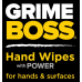 Grime Boss 120 Count Bucket Hand Wipes