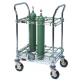 Ready Rack EMS Oxygen Cart