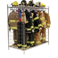 "Ready Rack Freestanding Double Sided  Gear Storage- 18"" Compartments"