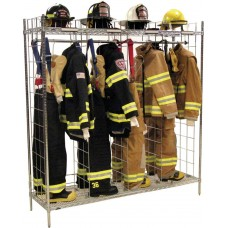 "Ready Rack Freestanding Single Sided  Gear Storage- 18"" Compartments"