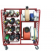 Ready Rack Multiple Purpose Storage System - Hose and Cylinder Configuration