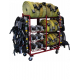 Ready Rack Multiple Purpose Storage System - Hose/SCBA/Cylinder