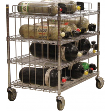 Ready Rack SCBA Mobile Bottle Cart