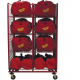 Ready Rack SOS-Gear Bag Storage Two Compartment