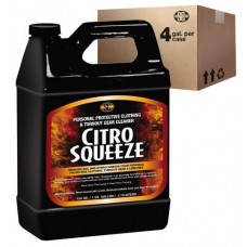 CitroSqueeze PPE & Turnout Cleaner (4) One Gallon Jugs