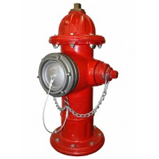 Harrington Storz Permanent Hydrant Adapter with Cap (Hydrant Converter)