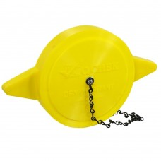 DHPC Dry Hydrant Yellow Polymer Cap with chain