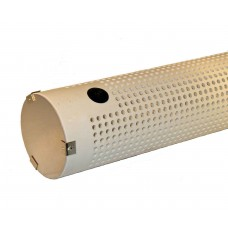 Horizontal PVC Strainers w/ Fixed Cover and Check Valve