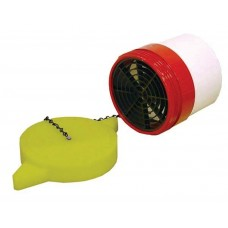DHMP Male Dry Hydrant Adapter With Polymer Cap