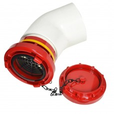 DHS Storz  Dry Hydrant Adapter With Aluminum Cap and Elbow