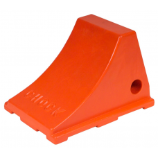 Wheel Chock Heavy Duty Orange