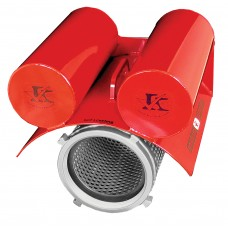 Self Leveling Floating Strainer -Red/Silvadillo
