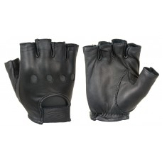 Damascus D22S Premium Leather Driving Gloves (½ finger)