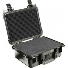 Pelican 1400  Protector Case- Black with Foam Inserts