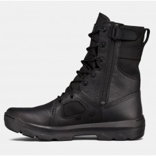 UA FNP Zip Mens Tactical Boots Black
