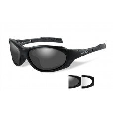 Wiley X XL-1 Sunglasses Grey/Clear Lens Matte Black Frame