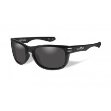 Wiley X Hudson Sunglasses Grey Lens Gloss Black Frame