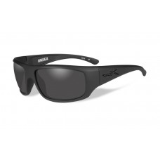 Wiley X Omega Sunglasses Grey Lens Matte Black Frame