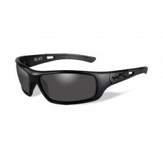 Wiley X Slay Sunglasses Grey Lens Matte Black Frame