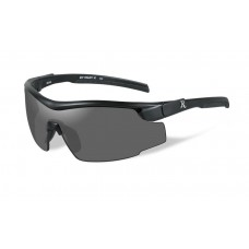 Wiley X Platinum Grade RE 100 Adult Grey Lens/Black Frame