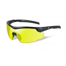 Wiley X Platinum Grade RE 102 Adult Yellow Lens/Black Frame