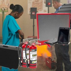 BullsEye Digital Fire Extinguisher Training System ‐ Ultimate Package