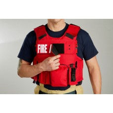 LION 3000R Body Armor  Carrier with Level IIIA Soft Panels and Two Rifle Plates