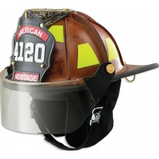 LION American Heritage Leather Helmet