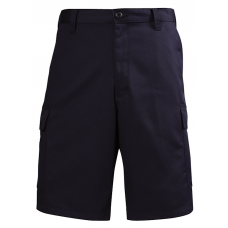 LION Shorts- EMS Style, Flat Front, 100% Cotton- Navy