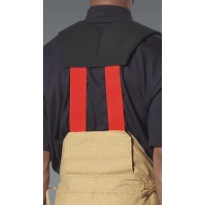 LION V-Back™, Quick Adjust, Stretch Padded Suspenders, Red, High, Back