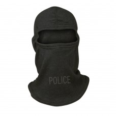 Slit Eye Nomex Blend Tactical Hood - Stamped POLICE