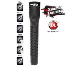 NSR-9924XL Xtreme Lumens Polymer Multi-Function Rechargeable Duty/Personal- Size LED Dual-Light - Black