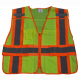 Public Safety Vest, 5-Point Breakaway w/Clear Title Pocket