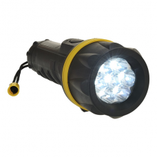 Portwest PA60 - 7 LED Rubber Flashlight