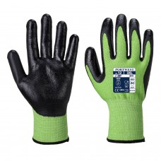 Portwest - Green Cut Nitrile Foam Gloves