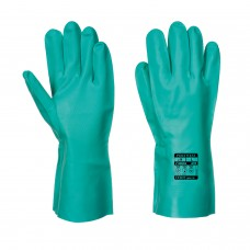 Portwest Nitrosafe Chemical Gauntlet  Nitrile Gloves