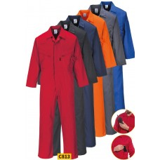 Portwest Liverpool Zipper Coverall