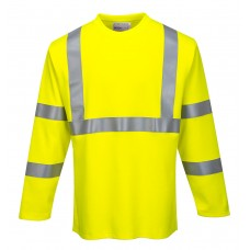 Portwest FR Hi-Vis Long Sleeve T Shirt