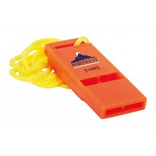Portwest Slimline 120db Safety Whistle