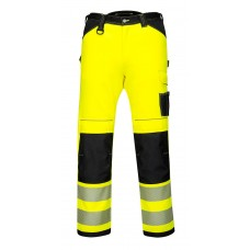 PW340 - PW3 Hi-Vis Work Pants Yellow/Black