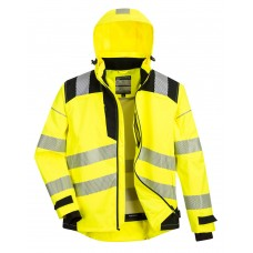 PW360 - PW3 Extreme Breathable Rain Jacket Yellow/Black