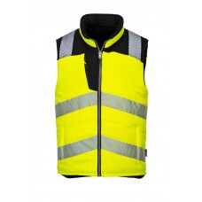 PW374 - PW3 Hi-Vis Reversible Vest Yellow/Black