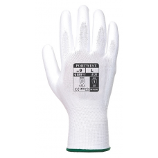 Portwest PU Palm Gloves- White