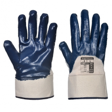 Portwest Nitrile Safety Cuff Gloves